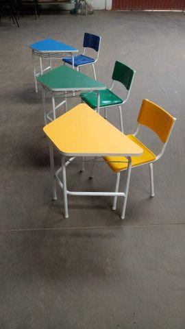 Móveis escolar adulto e infantil - Foto 6