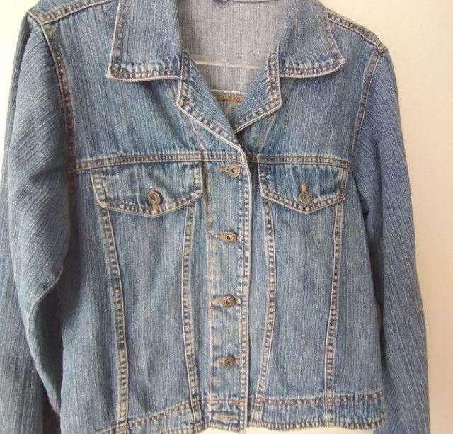 Jaqueta Jeans 25 Years tamanho M  - Foto 3