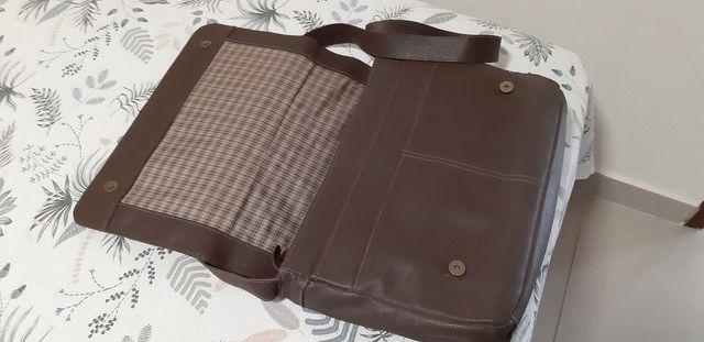 Bolsa de couro marrom  Le postiche  - Foto 6