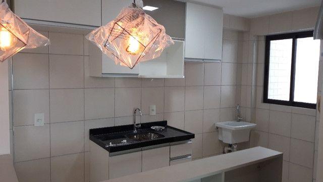 LA025 Apartamento na Torre, 44m2, 2Quartos, 1Suite, Piscina, Academia, Churrasqueira - Foto 4