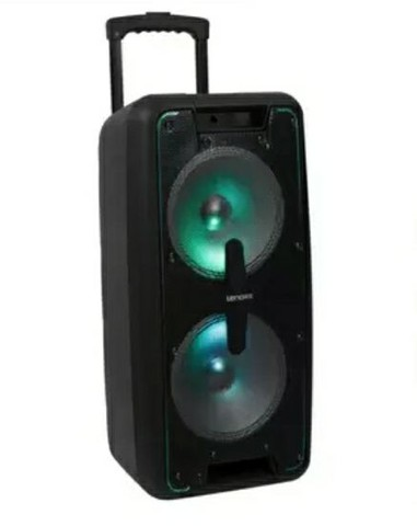 Caixa Amplificador Lenoxx 600w Bluetooth  - Foto 2
