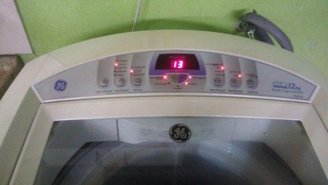 Lavadora maquina de lavar ge perfeita digital luxo - Foto 3