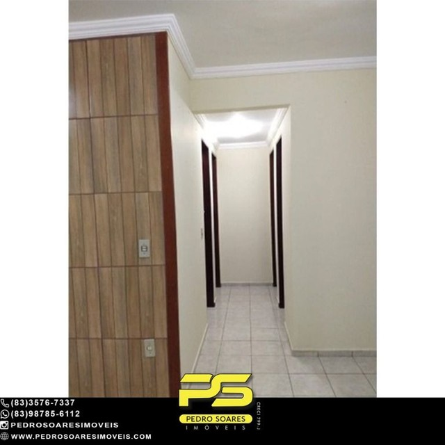 Apartamento com 3 dormitórios à venda, 70 m² por R$ 150.000 - Jardim Cidade Universitária  - Foto 13
