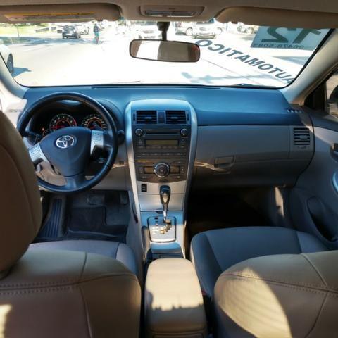 Toyota Corolla XEi 2.0 Flex 16V Automático Muito Novo Pouco Rodado com Gnv 5ª G - Foto 9