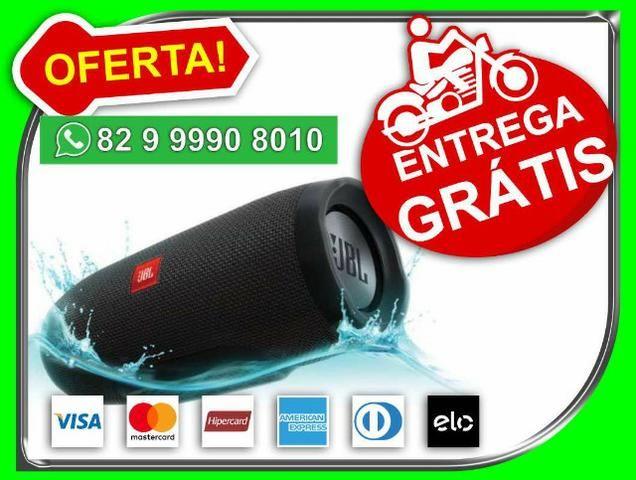 Sua-entregah-gratis- Caixa De Som Charge 3 aProva D-água Bluetooth