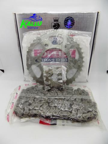 Kit relação xr 200 nx 200 niteroi moto kallu motos - Foto 2