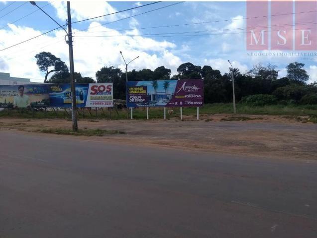 Área com frente para avenida das Palmeiras - Foto 2