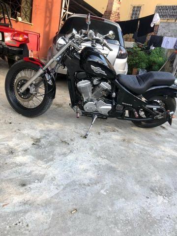 Moto Shadow 600 - Troco por XRE 300 - Foto 6