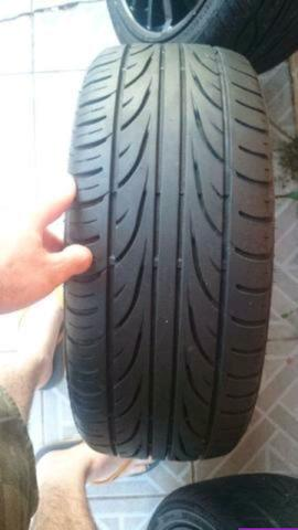 Barbada Roda 17 com pneu Pra vender hje - Foto 2