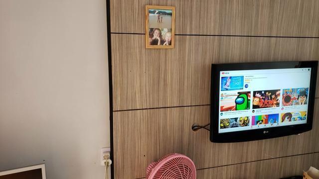 Casa simples com iptu 3quartos lote 270m2 rua 8vila São José Vicente Pires - Foto 5