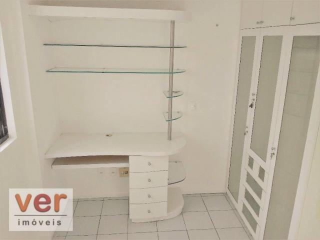 Apartamento à venda, 90 m² por R$ 349.000,00 - Cocó - Fortaleza/CE - Foto 8