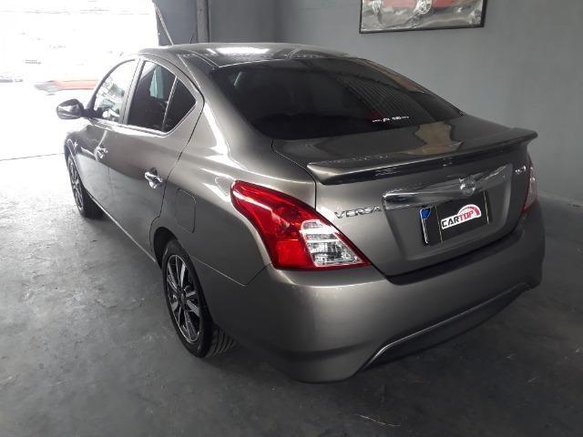 Nissan versa SL 1.6 CVT FLEX C/ 9000 MIL KM - Foto 5