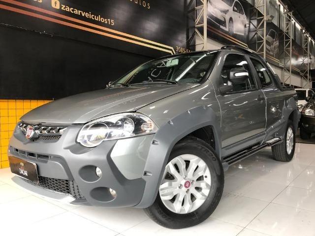 Fiat strada adventure 2012/2013 c.dupla 1.8 flex