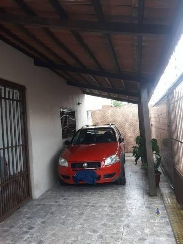 Casa com 4 dormitórios à venda, 167 m² por R$ 350.000 - Pitimbu - Natal/RN - CA0115 - Foto 3