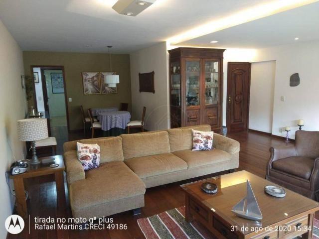 Apartamento com 4 dormitórios à venda, 190 m² por R$ 1.700.000,00 - Cosme Velho - Rio de J - Foto 3
