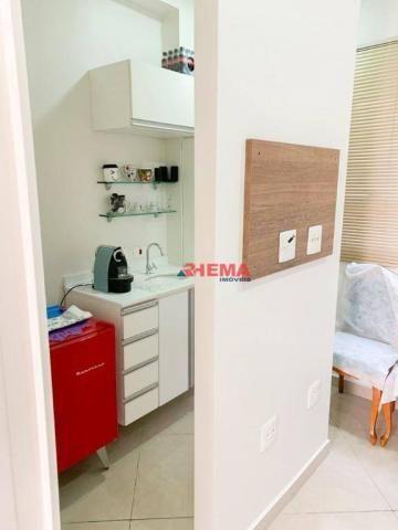 Sala à venda, 78 m² por R$ 590.000,00 - Gonzaga - Santos/SP - Foto 17