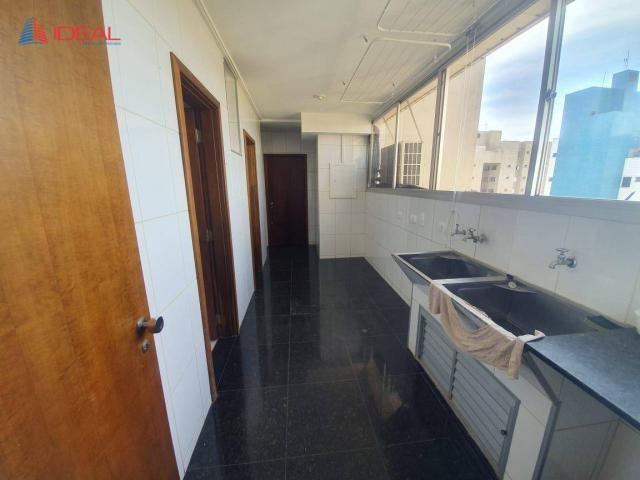 Apartamento com 4 dormitórios para alugar, 240 m² por R$ 2.700,00/mês - Zona 01 - Maringá/ - Foto 3
