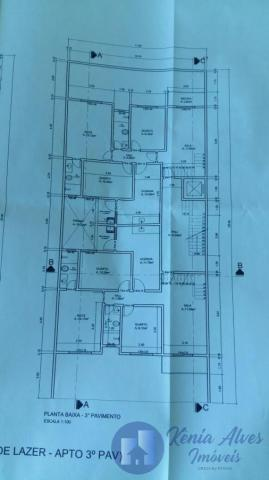 Apartamento para Venda em Volta Redonda, Jardim Belvedere, 3 dormitórios, 1 suíte, 2 banhe - Foto 5