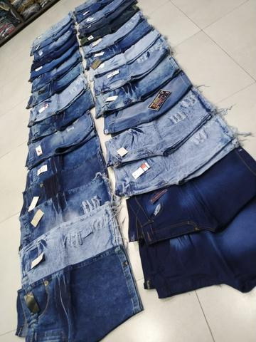 Bermudas Jeans Tradicional Apenas 40,00 - Foto 5