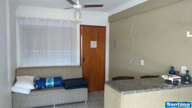Apartamento à venda com 1 dormitórios em Olegario pinto, Caldas novas cod:2490 - Foto 9