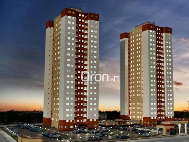 Apartamento com 2 dormitórios à venda, 54 m² por R$ 181.000,00 - Parque Oeste Industrial -