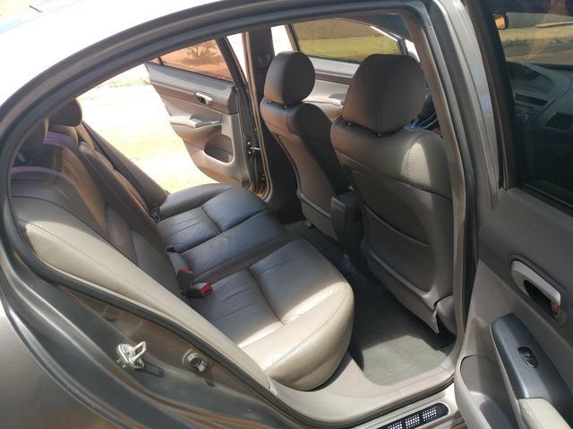 Vende-se Honda Civic Plaza LXS 09/10 1.8 Flex - Foto 10