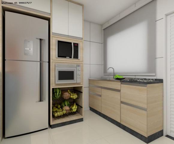 Casa para Venda em Várzea Grande, Paiaguas, 2 dormitórios, 1 banheiro, 2 vagas - Foto 18