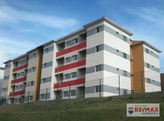 Apartamento com 2 dormitórios à venda, 45 m² por R$ 117.000 - Iranduba/AM