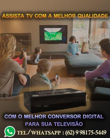 Conversor Tv Sinal Digital Isdb-t Set Top Box Full Hd Hdmi com Gravador