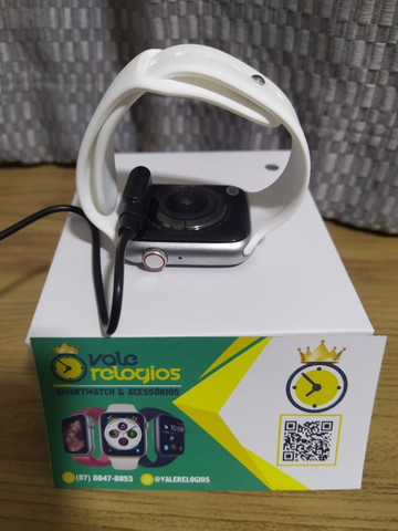 Smartwatch iwo w26 relogio inteligente tela infinita - Foto 5