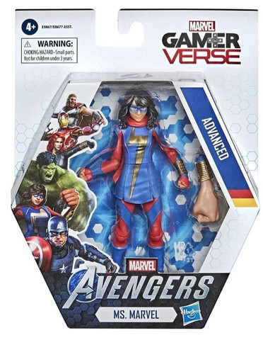 Action Figure Miss Marvel Gamerverse