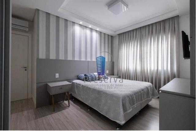 Apartamento totalmente mobiliado e equipado, na Av. Central em Balneário Camboriú/SC, com  - Foto 16