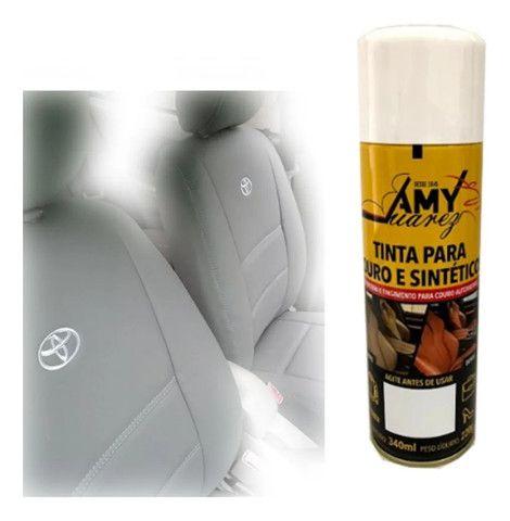 Tinta Spray para Couro e Sintéticos - Foto 11