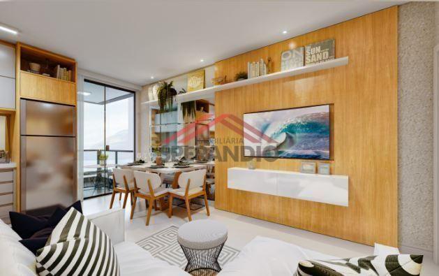 Lançamento! Apartamentos c/ 01 suíte + 01 quarto na Av. das Margaridas - Lot. São José - Foto 3