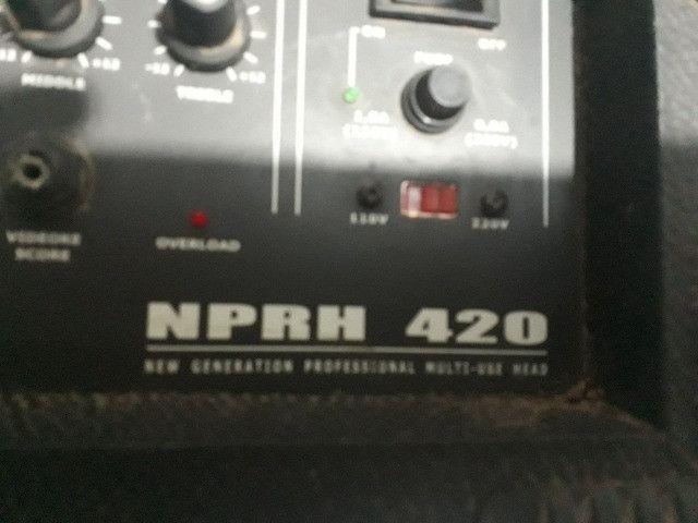 Amplificador Watsom ciclotrom nprh 420 - Foto 2