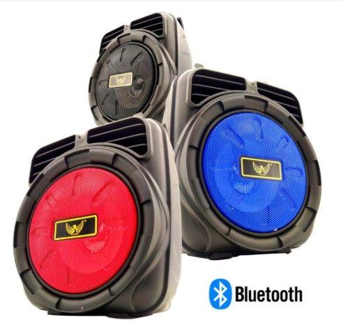 Caixa de Som Bluetooth Potente Usb Caixa Som FM Portátil - Frete Grátis ! - Foto 5