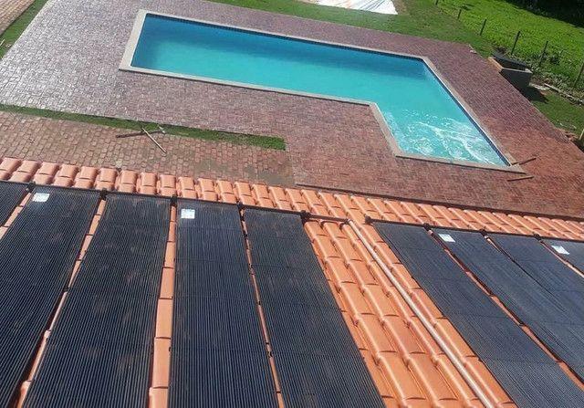 Aquecedor coletor solar para piscina - Foto 3