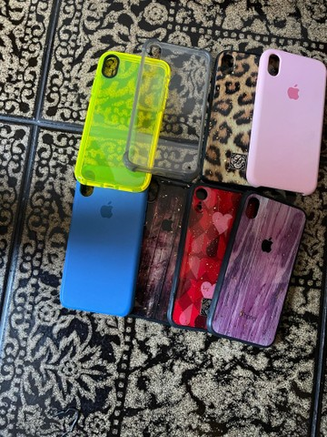 iPhone XR black 64 GB e capas  - Foto 6