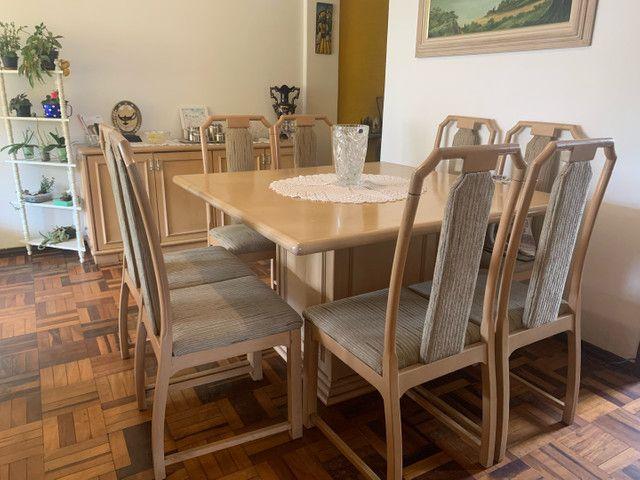 Mesa de Jantar 8 lugares+ Buffet 4 portas