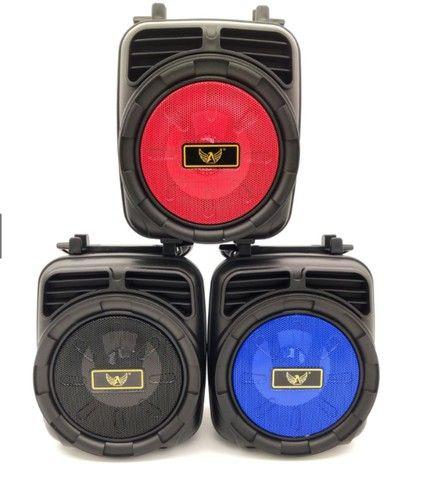 Caixa de Som Bluetooth Potente Usb Caixa Som FM Portátil - Frete Grátis !