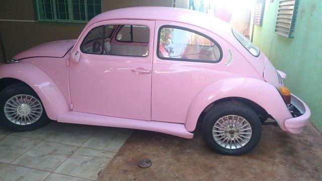 Vendo Fusca rosa - Foto 6