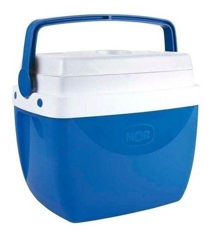 Cooler 18 Litros Caixa Térmica Suporta 24 Latas - Mor - Original Lacrado