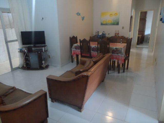 Apartamento 2 quartos, 110m2, com 2 áreas externas Praia do Morro Guarapari