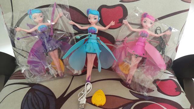 Bonecas Fadas Voadoras - Foto 4