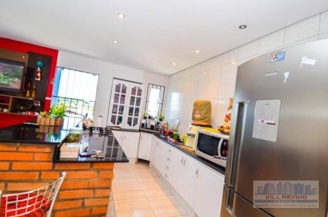 Villarinho vende casa com 3 dormitórios, 1 suíte,124 m² aréa const- terreno 300m² -600.000 - Foto 9