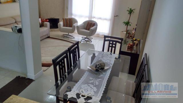 Villarinho vende excelente casa com 3 suítes c/piscina, 2 vagas- 223 m² por r$ 650.000,00  - Foto 3