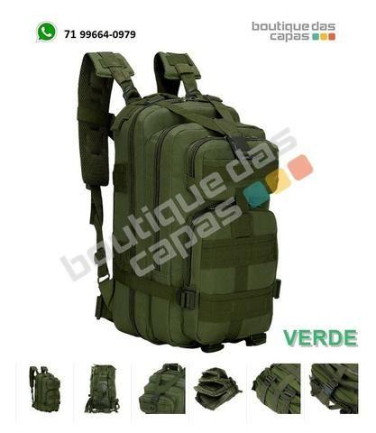 Mochila Tática Assault Militar molle Trilha polícia exército 30L notebook macbook - Foto 3