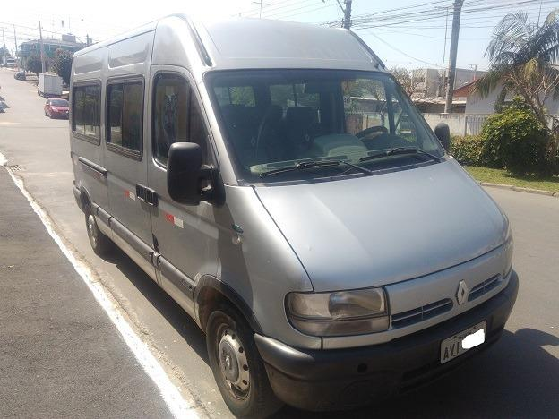 Renault Master 2.5 - 16 Lugares - Ano 2009 - R$ 52.000,00