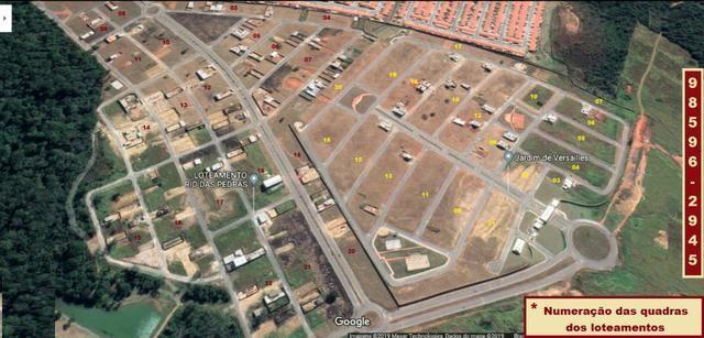 Lindos terrenos em cond. fechado em Valparaíso com segurança e áreas de lazer - Foto 13