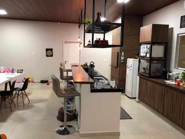 Linda Casa Alto Padrão 200 m2 - Terreno 625 m2 - Sta Cruz - Palmas PR - Foto 8